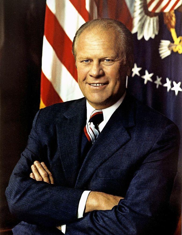 アメリカ合衆国 第38代大統領 ジェラルド・R・フォード|時代・年号 ...