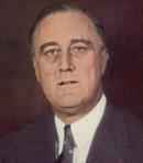 アメリカ合衆国 第32代大統領 フランクリン・ルーズベルト