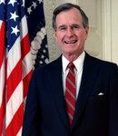 アメリカ合衆国 第41代大統領 ジョージ・H・W・ブッシュ