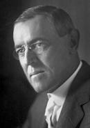 アメリカ合衆国 第28代大統領 ウッドロウ・ウィルソン
